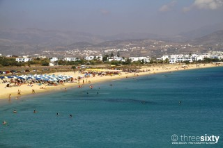 about naxos valena mare agios prokopios beach