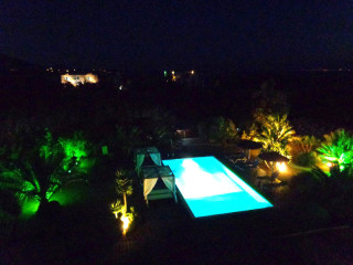 pool bar valena mare at night