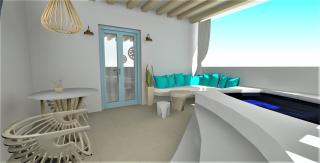 suite with jacuzzi naxos valena mare-02